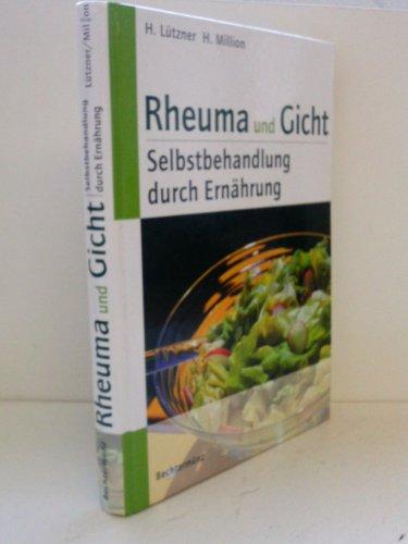 9783828918603: Rheuma und Gicht, Selbstbehandlung durch Ernährung :