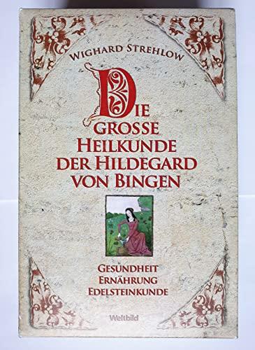 9783828920859: Die große Heilkunde der Hildegard von Bingen. Gesundheit. Ernährung. Edelsteinkunde. 3 Bände im Schuber: Hildegard Heilkunde von A-Z. Ernährungstherapie. Die Edelstein-Heilkunde der Hildegard von Bingen..