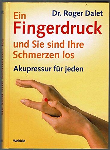 Ein Fingerdruck und Sie sind Ihre Schmerzen: Dr. Roger Dalet