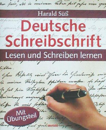 9783828925120: Deutsche Schreibschrift - Lesen und Schreiben lernen