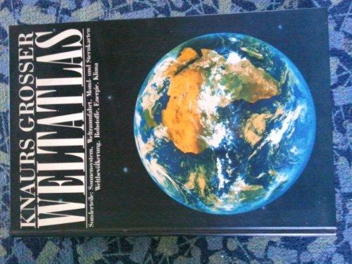 9783828935730: Knaurs grosser Weltatlas Sonderteile: Sonnensystem, Weltraumfahrt, Mond- und Sternkarten, Weltbevölkerung, Rohstoffe, Energie, Klima