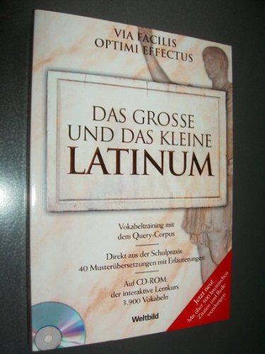 9783828941830: Das grosse und das kleine Latinum, inklusive CD-ROM