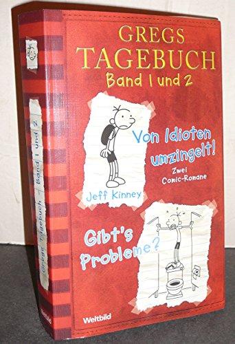 9783828981928: Gregs Tagebuch Band 1 und 2 im Doppelband: Von Idioten umzingelt + Gibt's Probleme?