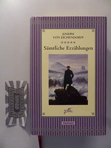9783828989184: Joseph von Eichendorff - Sämtliche Erzählungen, Sonderedition