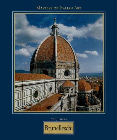 9783829002417: Brunelleschi (Masters of Italian Art Series)