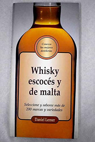 9783829004213: Whisky Escoces y de Malta