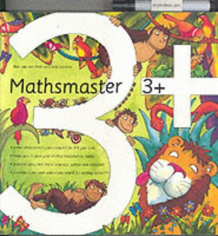 9783829014328: Mathmaster 3+: Pop-up Book (Mathsmaster)