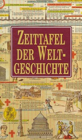 9783829017053: Timechart History of the World / Zeittafel der Weltgeschichte