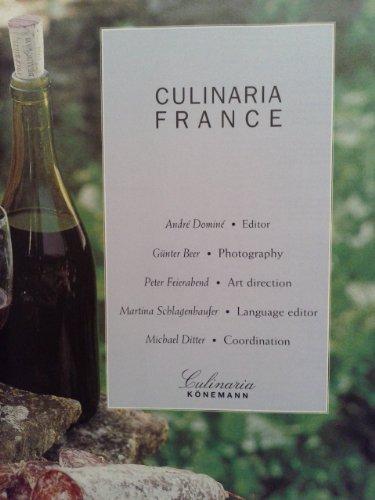 9783829020190: Culinaria France (Culinary Journey)