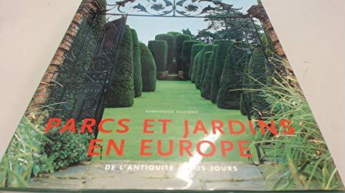 9783829022903: Parcs et jardins en Europe