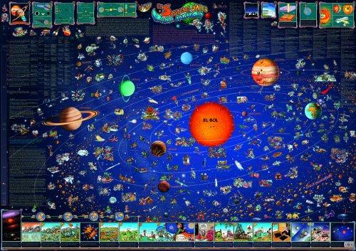 9783829035569: KON INF MAPA DEL UNIVERSO E (SIST.SOLAR
