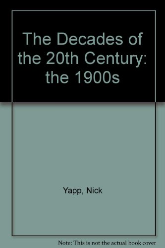 9783829036009: Decades of the 20th Century: The 1900s