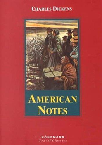 9783829053822: American Notes (Konemann Classics)