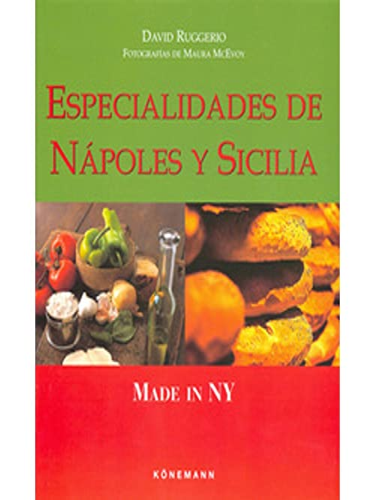 9783829079372: Especialidades de napoles y sicilia (made in ny)