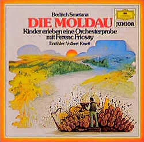 9783829104265: Die Moldau. CD: Kinder erleben eine Orchesterprobe mit Ferenc Fricsay
