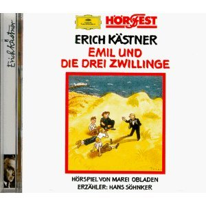 Emil und die drei Zwillinge, 1 CD-Audio: Erich Kästner