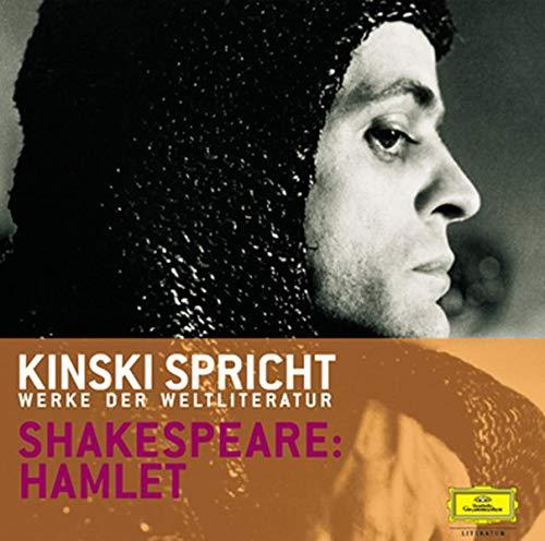 Kinski spricht Shakespeare: Hamlet. 2 CDs: Kinski spricht Werke der Weltliteratur (3829113803) by [???]