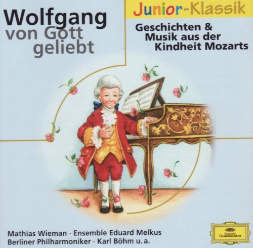 9783829117326: Wolfgang von Gott geliebt, 1 Audio-CD [Audio CD] by Wiemann, Mathias