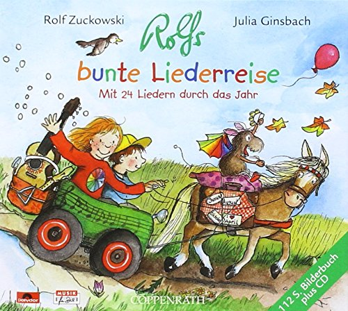 9783829118385: Rolfs bunte Liederreise, m. Audio-CD