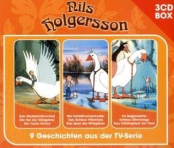 9783829119801: Nils Holgersson Hörspielbox: 9 Geschichten aus der TV-Serie