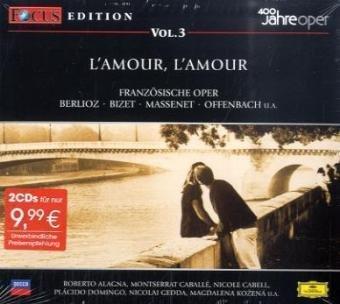9783829119979: FOCUS CD-EDITION VOL.3 L'AMOUR,L'AMOUR