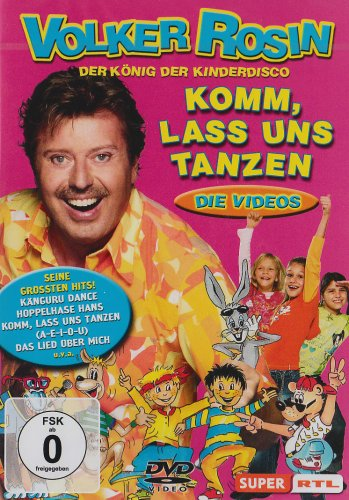 9783829122436: Komm lass uns tanzen: Die Kinderdisco-DVD [Alemania]