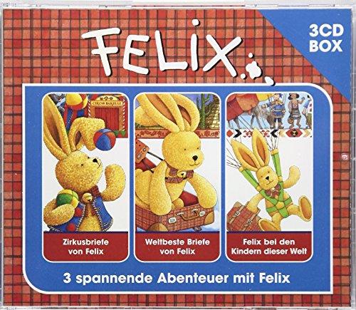 Felix Hörspielbox 2 : Zirkusbriefe von Felix / Weltbeste Briefe von Felix / Felix bei den Kindern dieser Welt - Annette Langen