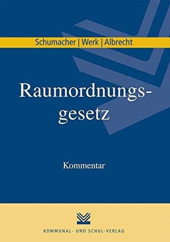 9783829308571: Raumordnungsgesetz