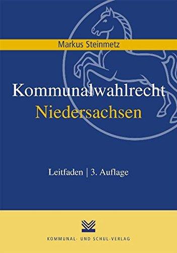 9783829309417: Kommunalwahlrecht Niedersachsen