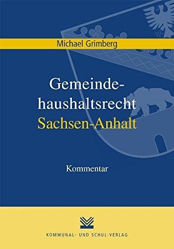 9783829309448: Gemeindehaushaltrecht Sachsen-Anhalt