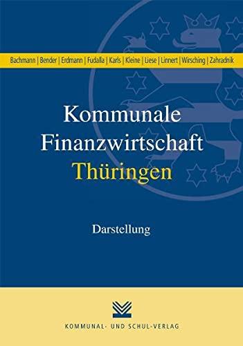 9783829309455: Kommunale Finanzwirtschaft Thüringen
