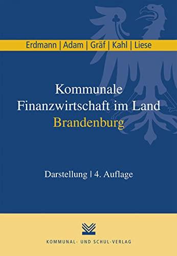9783829311304: Kommunale Finanzwirtschaft im Land Brandenburg: Darstellung