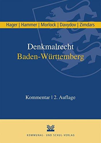 9783829312042: Denkmalrecht Baden-Württemberg
