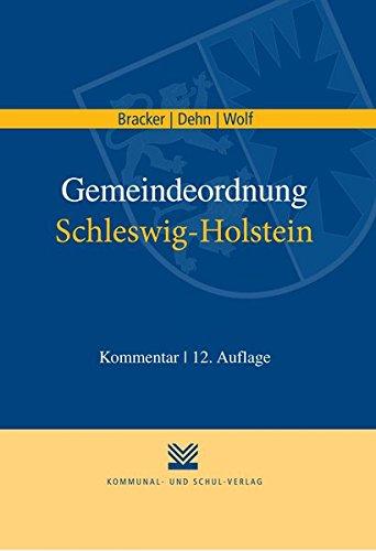 Gemeindeordnung Schleswig-Holstein: Reimer Bracker
