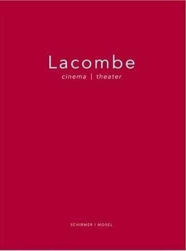 9783829601801: Brigitte Lacombe: Cinema / Theater