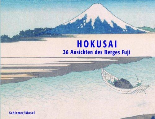 9783829602952: Hokusai - 36 Ansichten des Berges Fuji