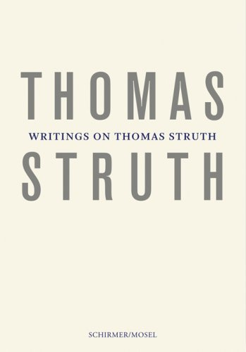 9783829603942: Writings on Thomas Struth