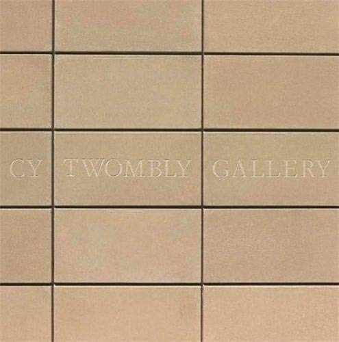 Cy Twombly Gallery the Menil Collection, Houston: Paul Winkler, Carol