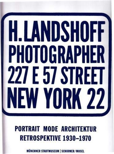 Hermann Landshoff. Portrait Mode Architektur: Hermann Landshoff