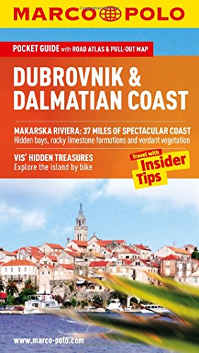Croatian Coast Marco Polo Guide (Marco Polo: Various Map Artist