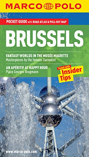 9783829706810: Brussels Marco Polo Guide (Marco Polo Guides)