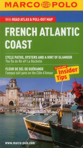 9783829707299: French Atlantic Coast (Biarritz, Bordeaux, La Rochelle, Nantes) Marco Polo Pocket Guide (Marco Polo Travel Guides)