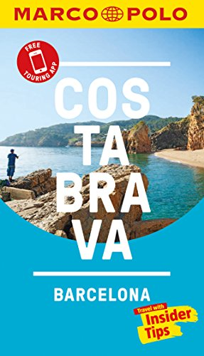 9783829707664: Costa Brava Marco Polo Pocket Travel Guide 2018 - with pull out map (Marco Polo Pocket Guides)