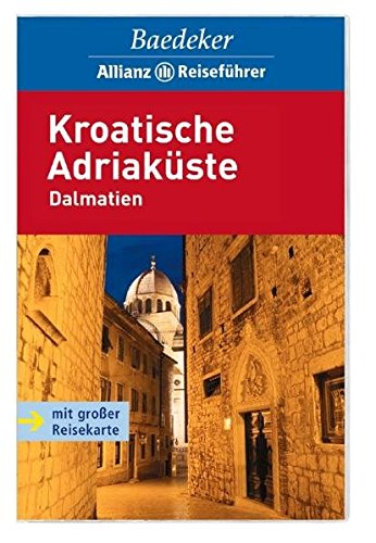 9783829711012: Kroatische Adria. Dalmatien: Mit großer Reisekarte