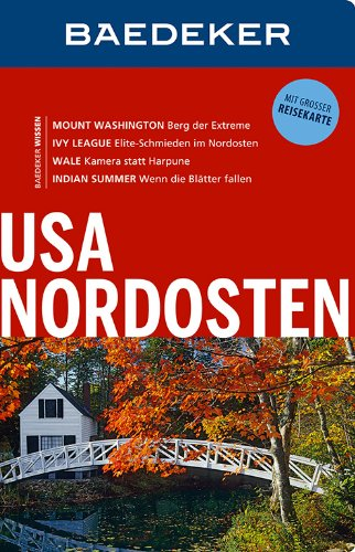 9783829714808: Baedeker Reiseführer USA-Nordosten