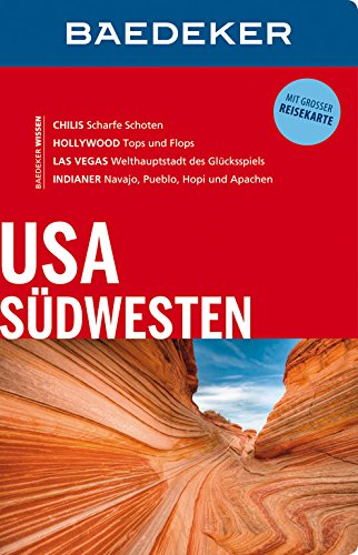 9783829714822: Baedeker Reisef�hrer USA S�dwesten: Mit grosser Reisekarte