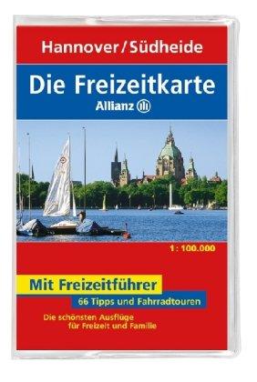 9783829717090: Die Freizeitkarte Allianz Hannover / Südheide 1 : 100 000: 66 Tipps und Fahrradtouren. Die schönsten Ausflüge für Freizeit und Familie