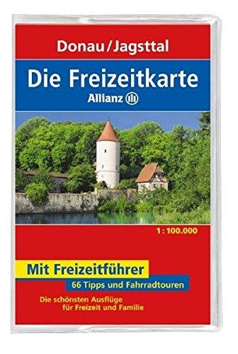 9783829717274: Die Allianz Freizeitkarte Donau, Jagsttal 1:100 000