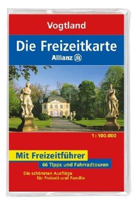 9783829717496: Die Allianz Freizeitkarte Vogtland 1:100 000