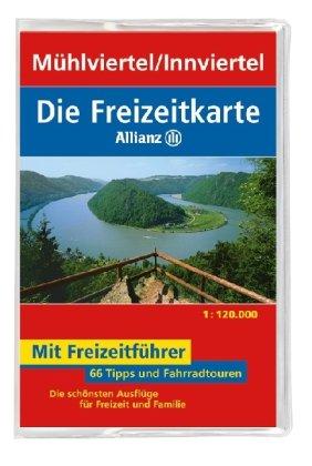 9783829717625: Freizeitkarte Allianz Mühlviertel / Innviertel 1 : 120 000